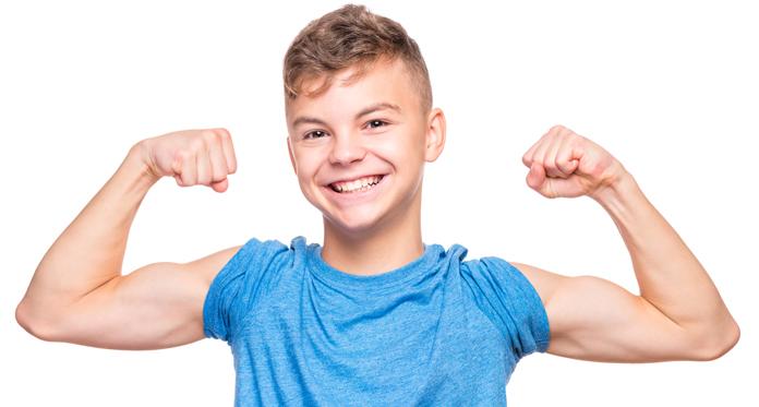 pesi in adolescenza