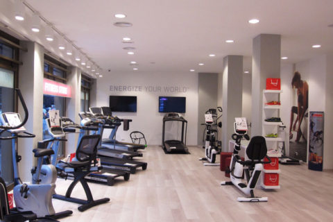Johnson Fitness Store Roma