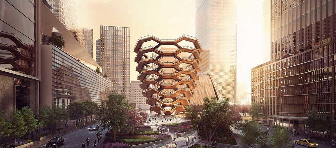 Vessel a New York, rendering