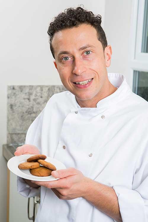 Biscotti di frolla proteica una ricetta di cucina funzionale - Inulina in cucina ...