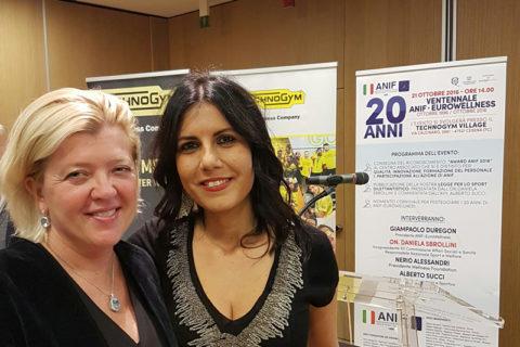 Beatrice Masserini e Daniela Sbrollini