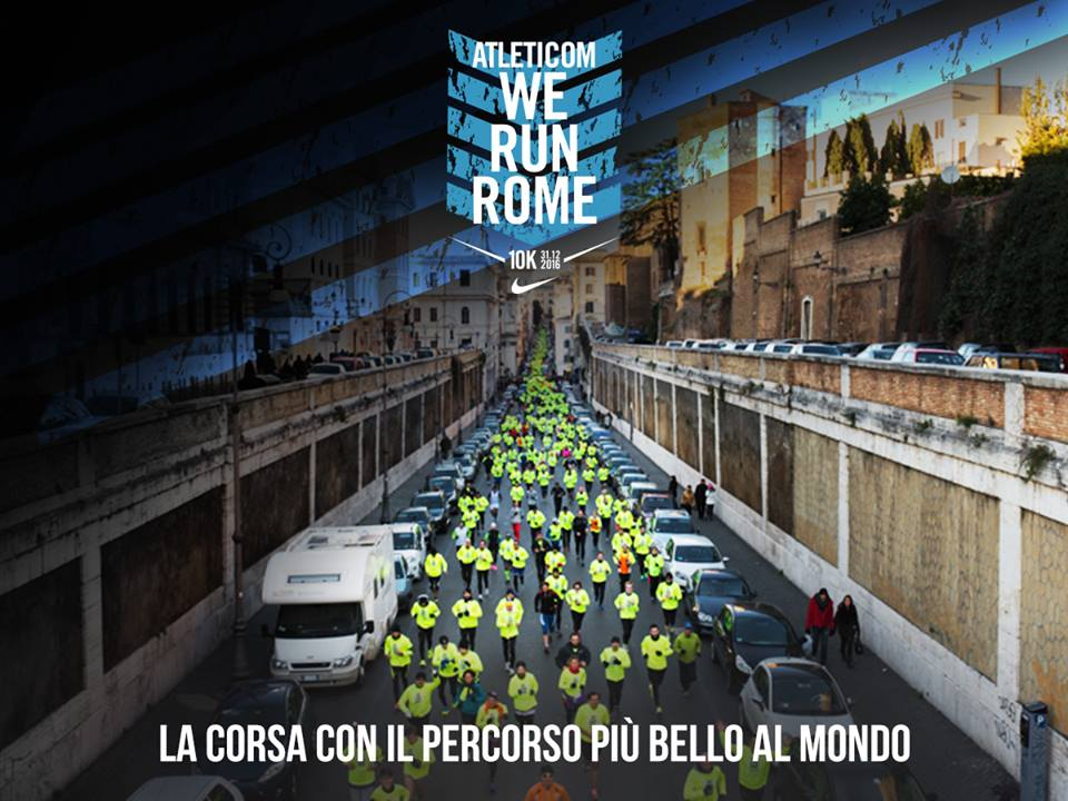 Atletic We Run Rome 2016: la maratona della Capitale torna a Capodanno