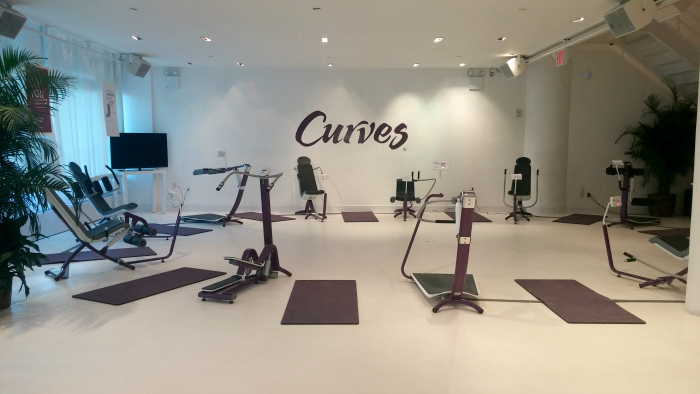 allenamento a circuito Curves