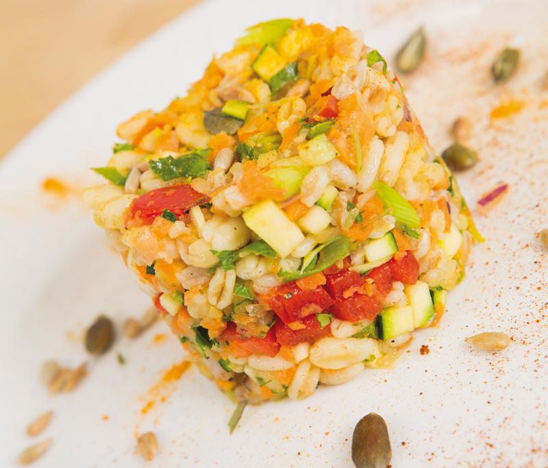 Ricette di cucina funzionale – Insalata di Kamut e Farro