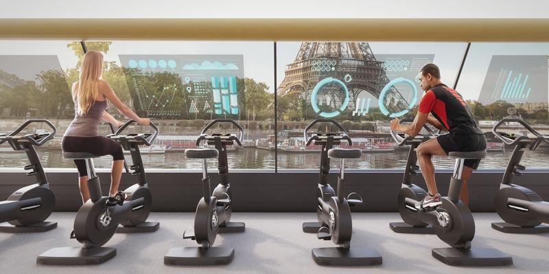 interno della Parys Navigating Gym