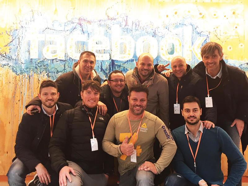 Il gruppo di Fitness Network Italia