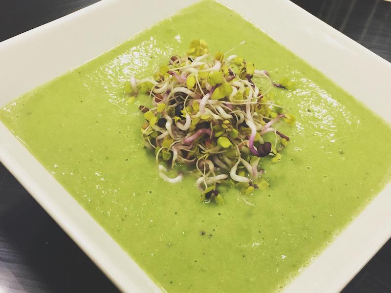 Ricette di cucina funzionale – Crema di avocado e piselli