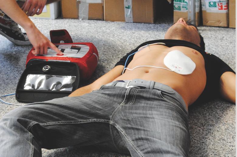 L'uso del defibrillatore in palestra