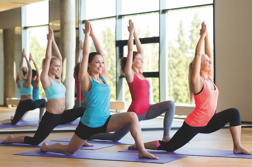 lo yoga in palestra