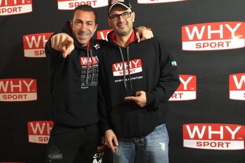Massimo Alparone e Why Sport