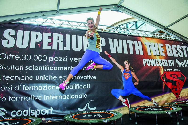 SuperJump: il tappeto che  ti rimette in forma