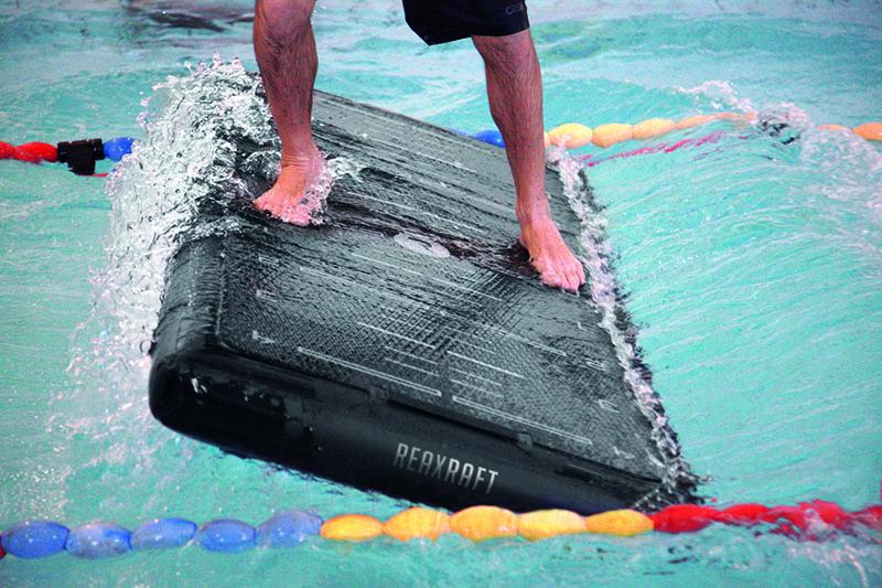 Allenarsi in acqua in modo imprevedibile