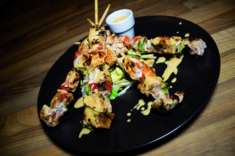 Ricette di cucina funzionale – Spiedini con salsa satay