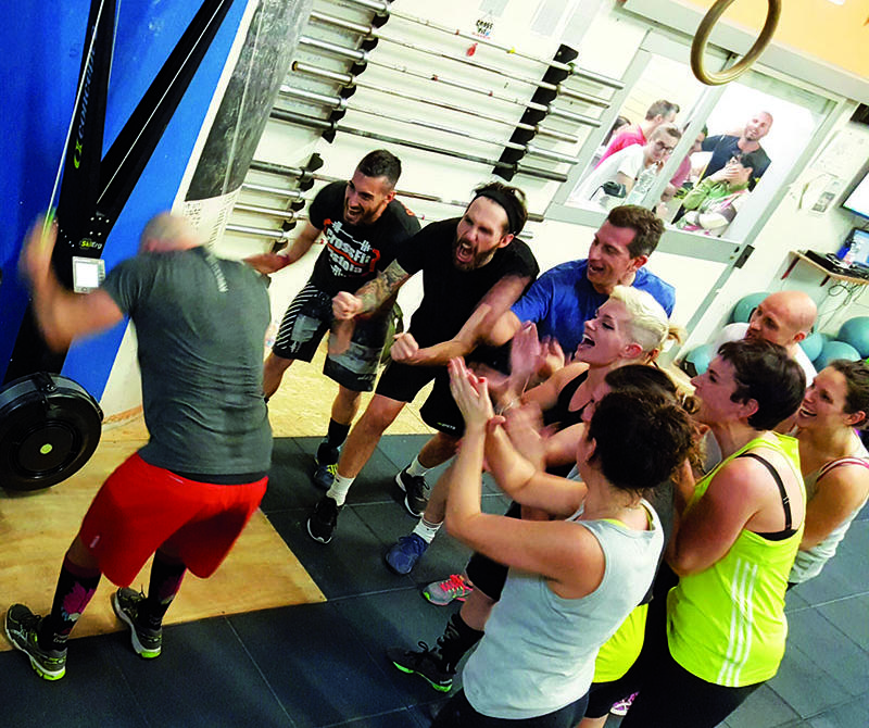 allenamento in squadra