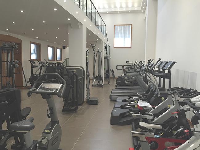 i macchinari di Fitness Studio