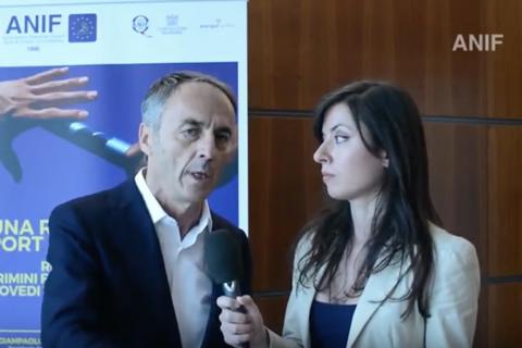 Nerio Alessandri al Convegno Nazionale ANIF RiminiEurowellness 2017