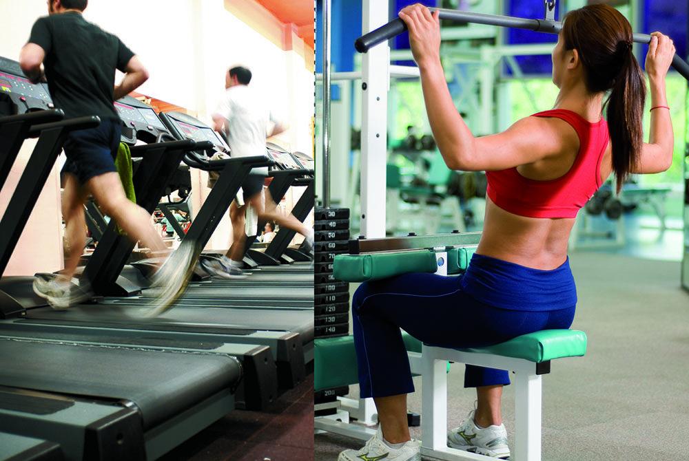 attivita aerobica allenamento con i pesi