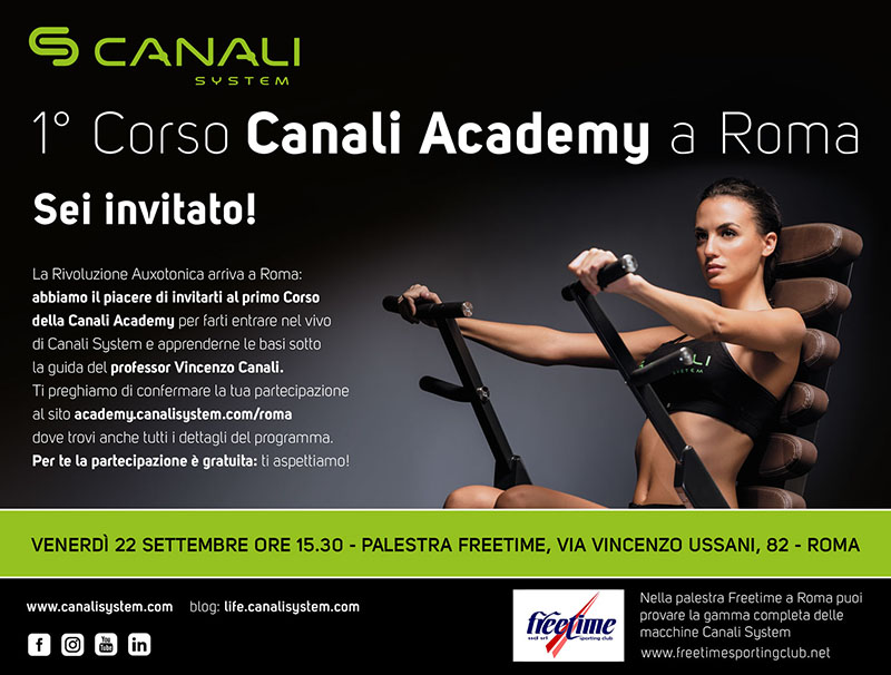 Canali System a Roma