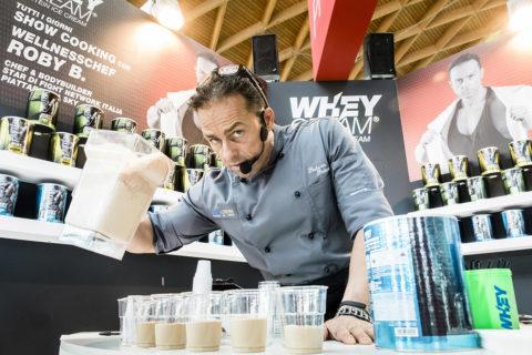 Roberto Botturi, ambassadro Whey cream
