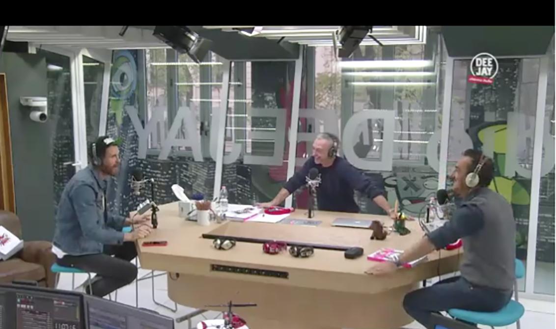 Bulletproof Jovanotti a Radio Deejay