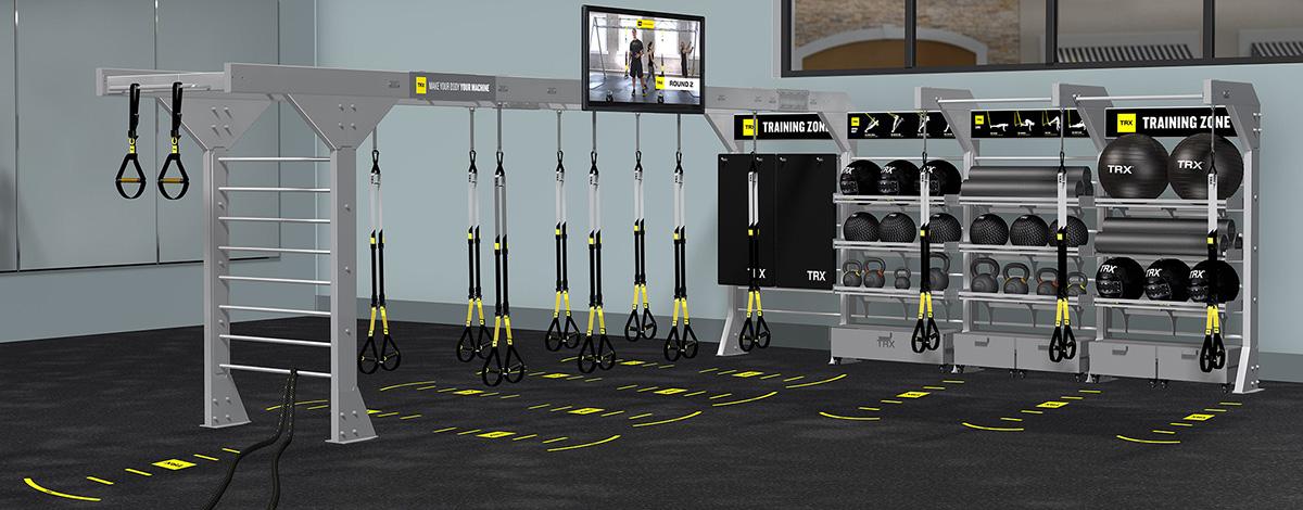 TRX® BOX: ambiente funzionale chiavi in mano