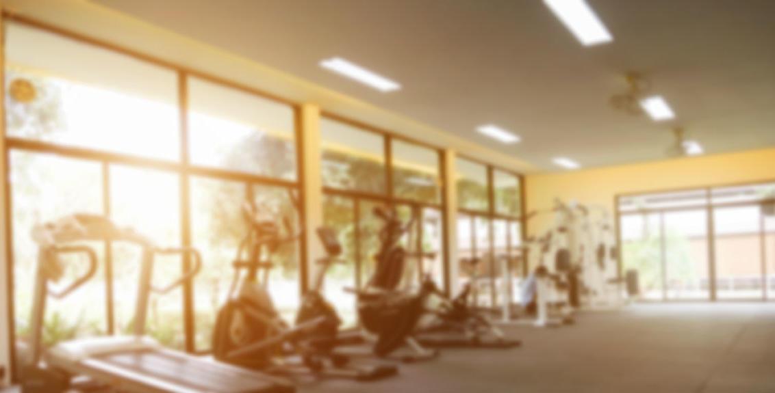 vetrina di un centro fitness