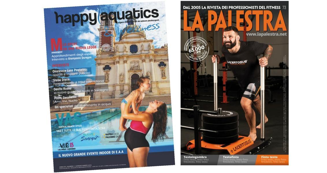 Happy Aquatics e La Palestra