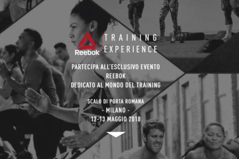 Un weekend alla grande con Reebok Training Experience