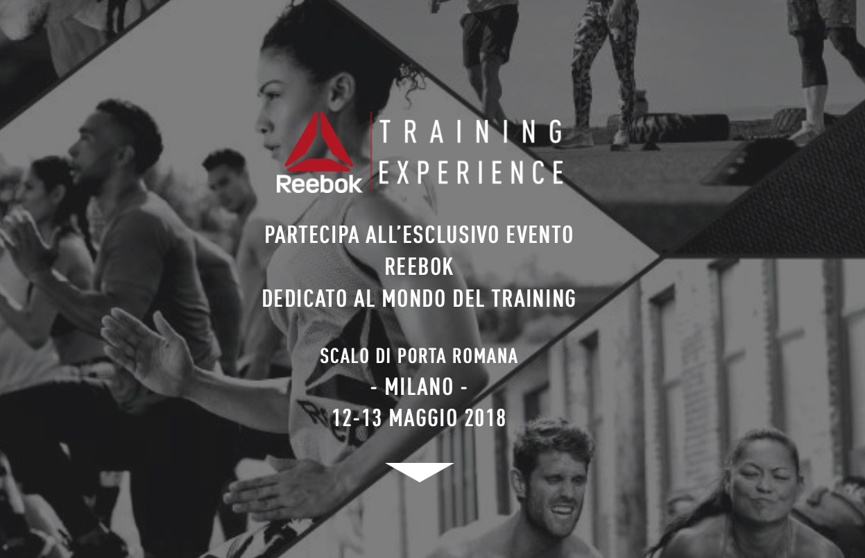 Un weekend alla grande con Reebok Training Experience