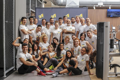 McFit al convegno Train free to feel good