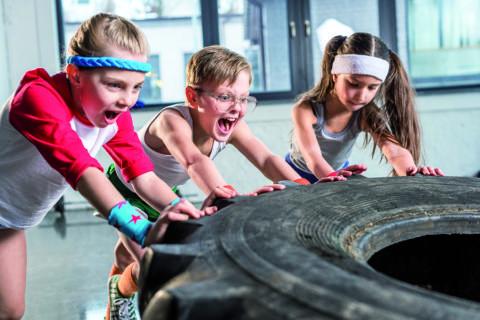 bambini e fitness