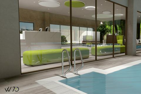 Una piscina più accattivante