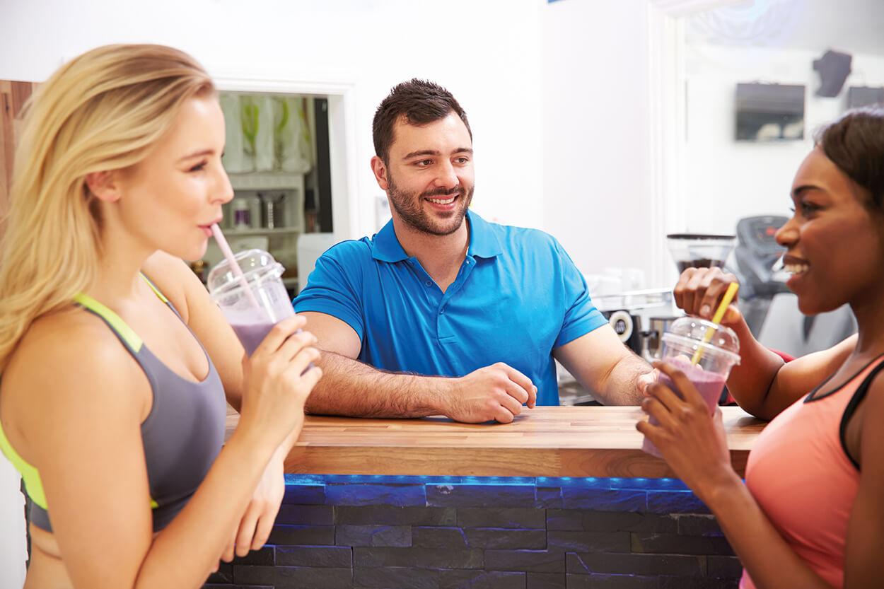 Come rendere aperto e accogliente il centro fitness