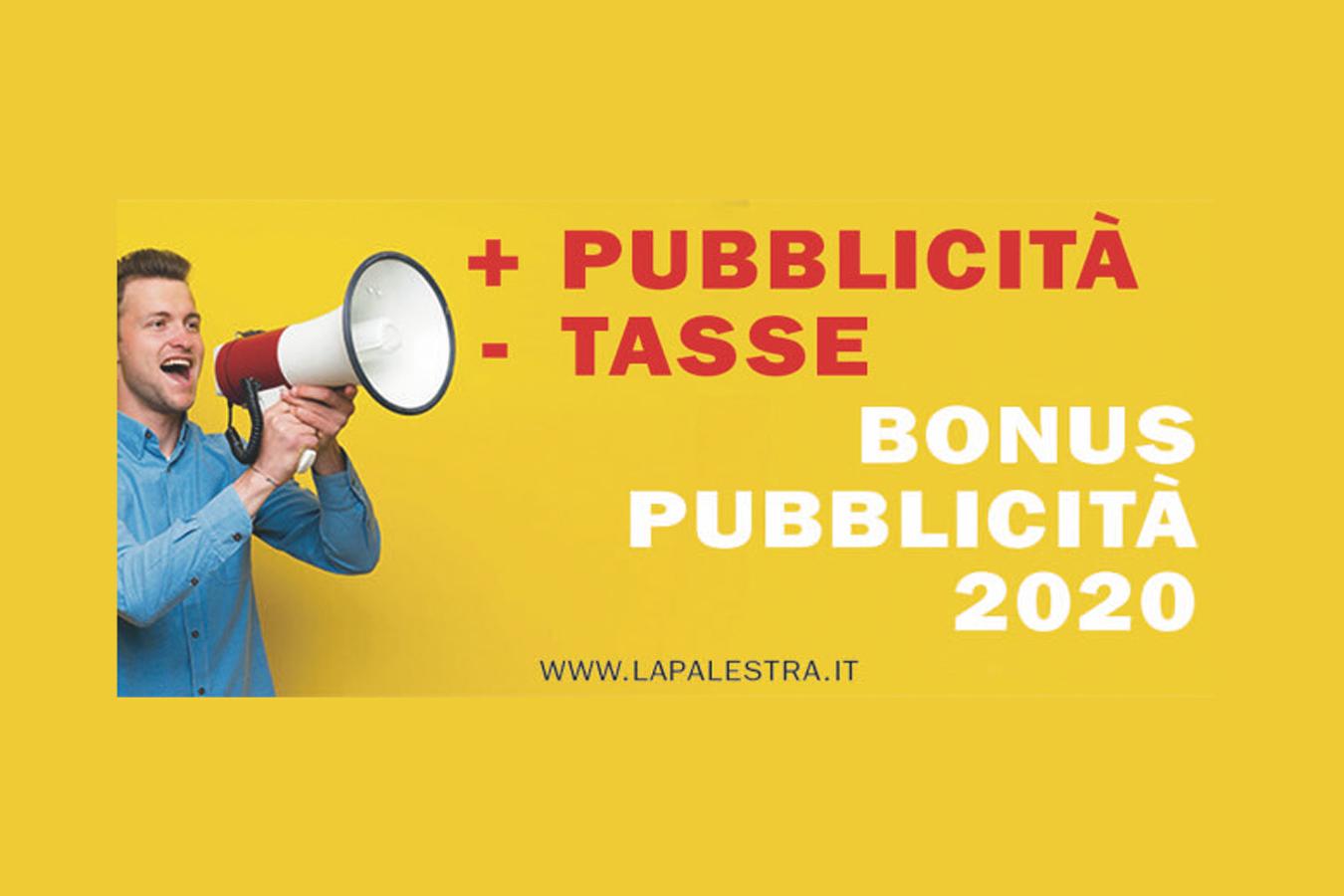 Nuove norme per il Bonus Pubblicità 2020