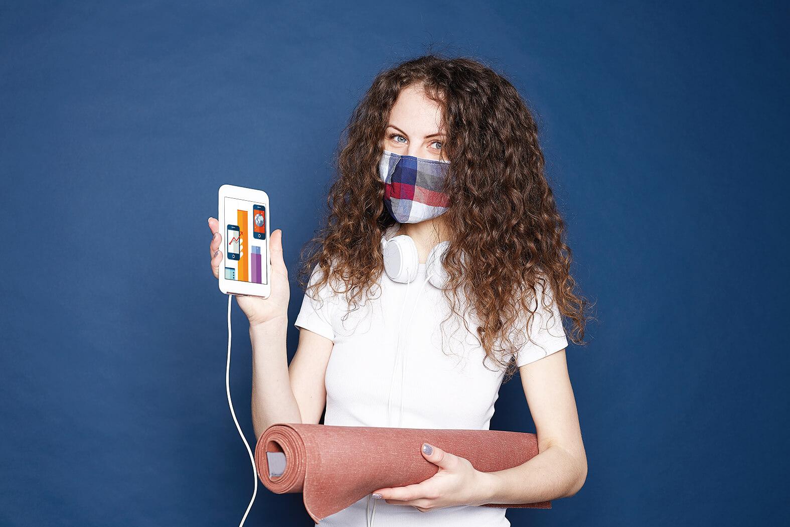 Convivenza virus e fitness: l'aiuto del digitale