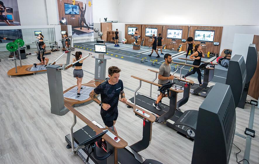 La ripresa parte dallo Smart Fitness