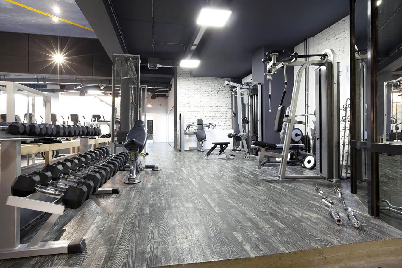 Pavimenti per palestra e sala pesi: scegliere il tipo ideale