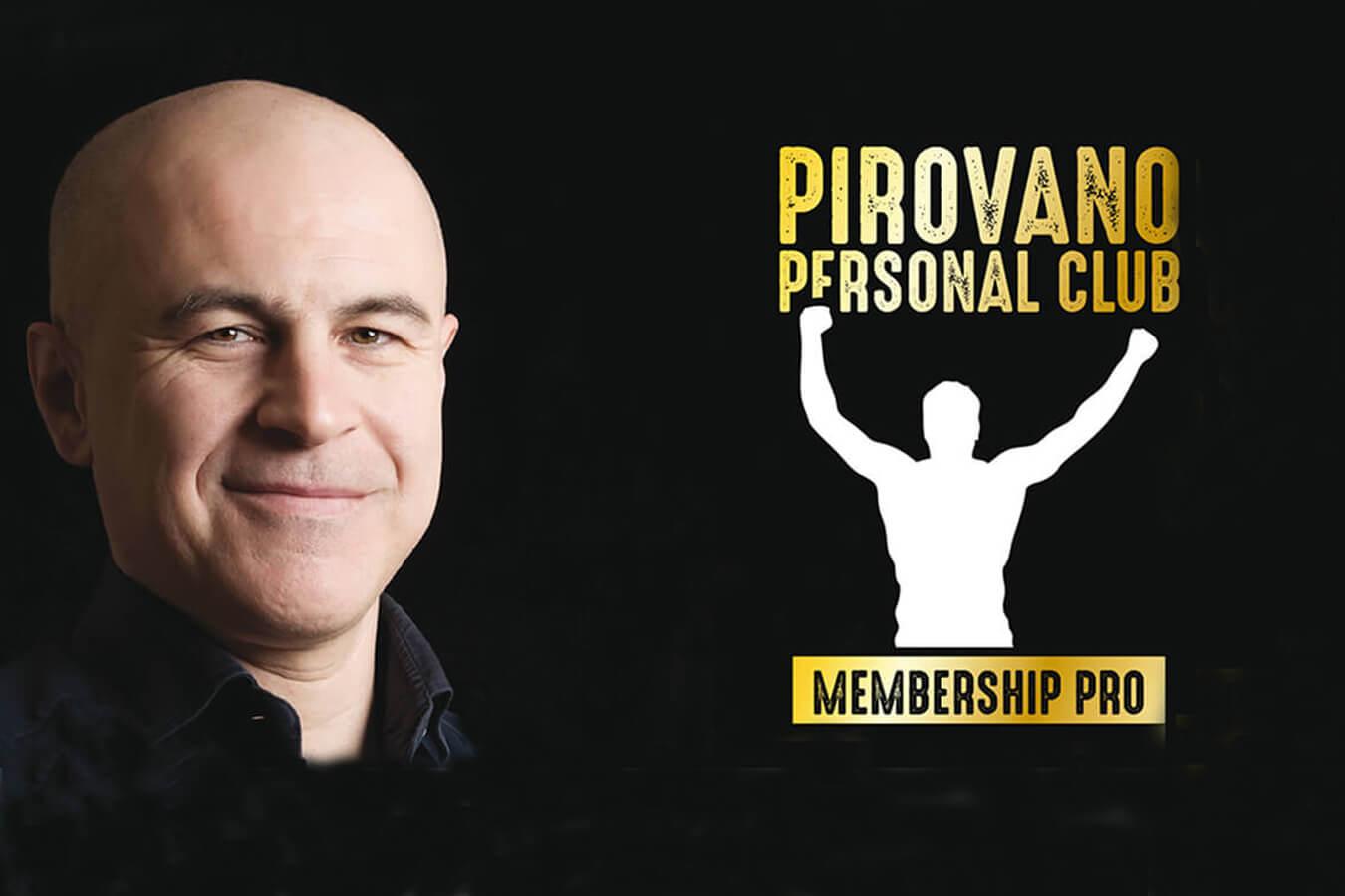 È nato Pirovano Personal Club: il primo in Italia dedicato alla Formazione Marketing per Personal Trainer
