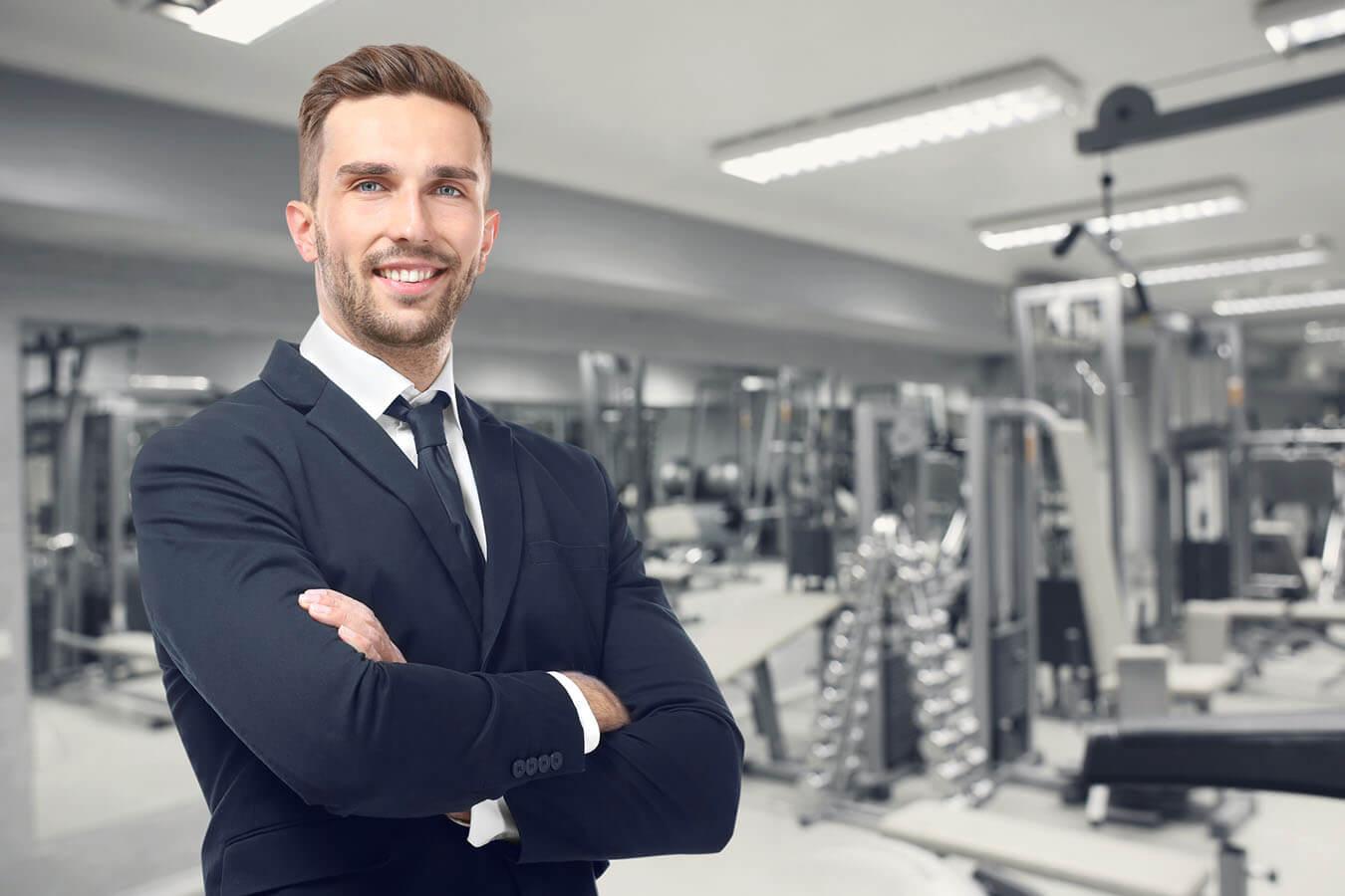 La professionalità di titolari e collaboratori di una palestra
