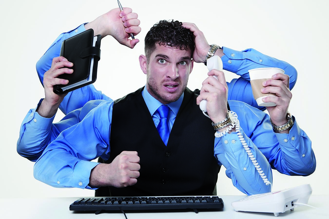 Multitasking una causa di ansia e stress